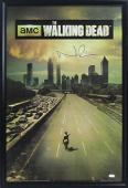 Norman Reedus Signed The Walking Dead Season One Framed Full Size Poster
