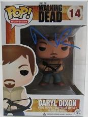 Norman Reedus Singed Daryl Dixon Cross Bow Funko Pop! Doll The Walking Dead JSA
