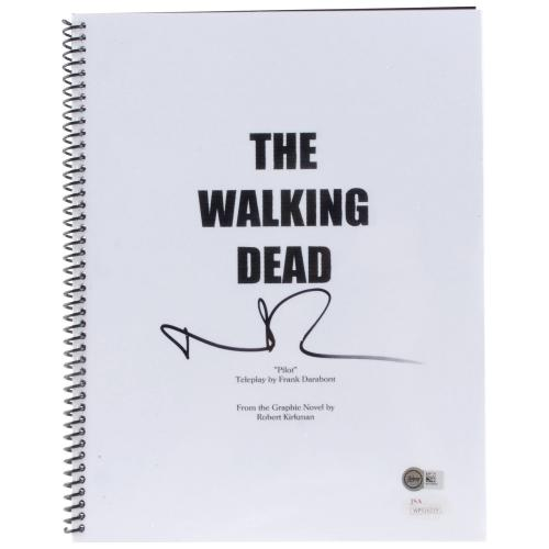 Norman Reedus The Walking Dead Autographed Full Movie Script - BAS