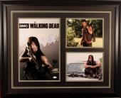"Norman Reedus ""The Walking Dead"" Autographed/Signed & Framed 11x17 Photo JSA COA"