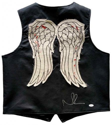 Norman Reedus The Walking Dead Signed Daryl Dixon Full Size Vest JSA 135596