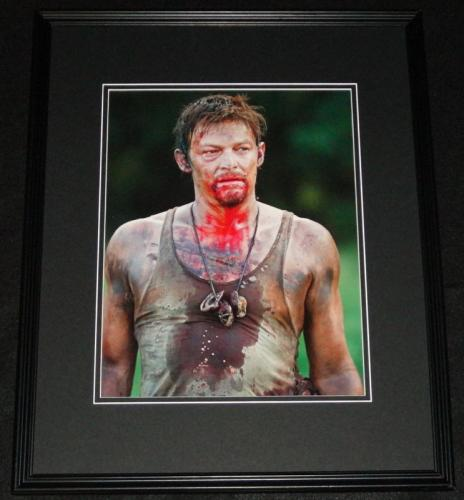 Norman Reedus Walking Dead 2013 Framed 11x14 Photo Poster