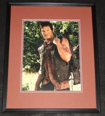 Norman Reedus Walking Dead Framed 11x14 Photo Poster
