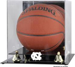 North Carolina Tar Heels Golden Classic (2015-Present Logo) Basketball Display Case with Mirror Back