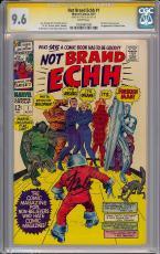 Not Brand Echh #1 Cgc 9.6 Ss Stan Lee W Halloween Highest Graded #1055461008