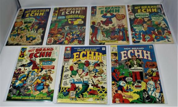 Not Brand Echh #4-9, 12 Beatles! Forbush-man! Stan Lee! Vg To Vf-