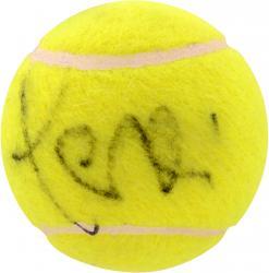 Jana Novotna Autographed Tennis Ball