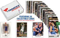 Dirk Nowitzki Dallas Mavericks Collectible Lot of 20 NBA Trading Cards