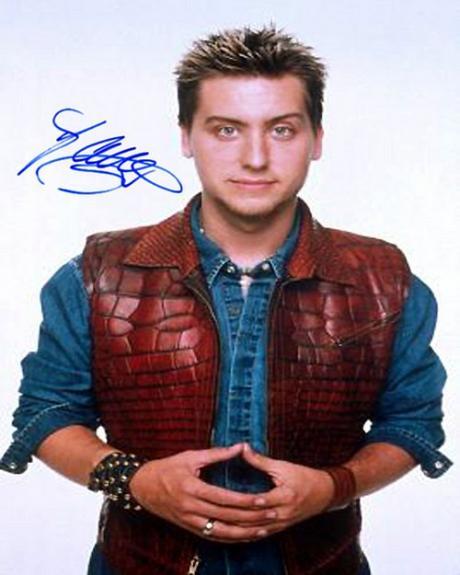 nsync_lance Facsimile Signature   Photo