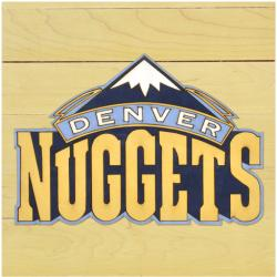 "NBA Denver Nuggets 12"" x 12"" Logo Floor Piece"