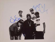 NWA N.W.A. Signed Autographed 11X14 Photo by 3 MC REN DR. DRE & ICE CUBE