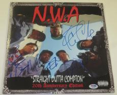 Nwa Straight Outta Compton Signed Album Dr. Dre Ice Cube Ren Yella Proof Psa Coa