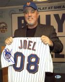 NY Mets BIlly Joel Musician Signed 11x14 Photo Autographed BAS #D94515