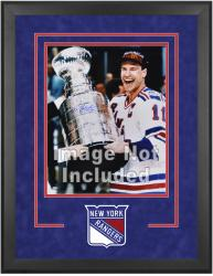"New York Rangers Deluxe 16"" x 20"" Vertical Photograph Frame - Mounted Memories"