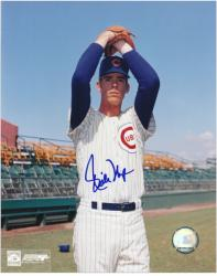 "Rich Nye Chicago Cubs Autographed 8"" x 10"" Glove Pose Photograph"