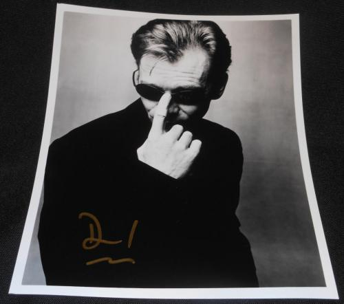 NYPD Blue David Caruso Vintage Printed Facsimile Autograph 8x10 Photo  614