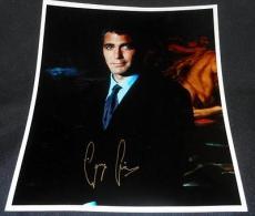 Oceans 11 George Clooney Vintage Printed Facsimile Autograph 8x10 Photo  614