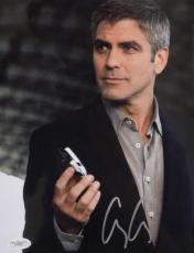 Oceans 13 George Clooney Signed RARE 8x10 Photo JSA
