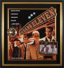 Ocean's Eleven Cast Autographed Framed Casino Display