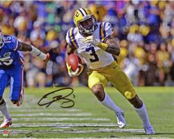 "Odell Beckham Jr. LSU Tigers Autographed 8"" x 10"" Open Field vs Florida Gators Photograph"