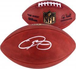 Odell Beckham Jr. New York Giants Autographed Duke Pro Football