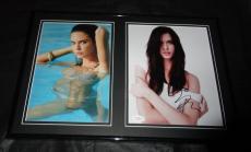 Odette Yustman SEXY Signed Framed 12x18 Photo Set JSA Cloverfield