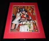 Office Christmas Party Cast 2016 Framed 11x14 Photo Display Jennifer Aniston