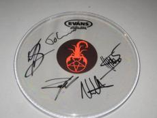 Oh, Sleeper Group Signed Drumhead PROOF Christian Metalcore Children of Fire