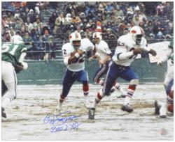 "O.J. Simpson Buffalo Bills Autographed 16"" x 20"" 2003 RB Photograph with 2003 YDS Inscription"