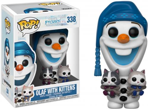 Olaf Frozen with Cats #338 Funko Pop!