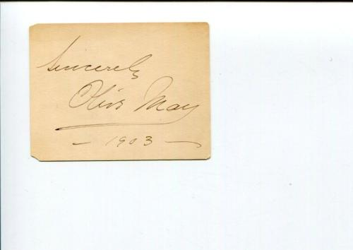 Olive May Countess of Drogheda & Theater Actress Signed Autograph