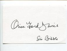 Oliver Ford Davies Star Wars Sio Bibbl Kavanagh QC Signed Autograph
