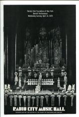 Oliver Reed Raquel Welch Crossed Swords Radio City Music Hall 1978 Program