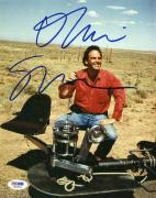Oliver Stone Platoon Signed 8X10 Photo Autograph PSA/DNA #Q51856