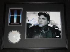 Oliver Stone Signed Framed 18x24 World Trade Center DVD & Photo Display JSA