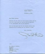OLIVIA deHAVILLAND HAND SIGNED 8x10 LETTER+COA   VERY RARE    GONE WITH THE WIND