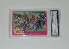 Olivia Newton John Signed Auto'd 1978 Grease Card #20 Psa/dna Coa Slab Rare