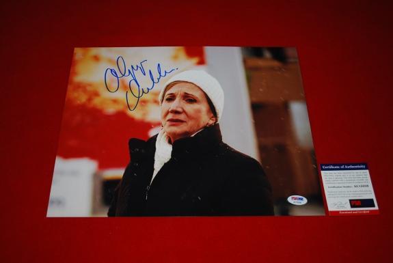 Olympia Dukakis oscar winner Moonstruck Steel Magnolia signed PSA/DNA 11x14