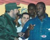 Omar Linares Signed Auto'd 8x10 Photo Picture Psa/dna Coa Cuba W/ Fidel Castro A