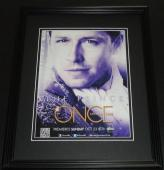 Once Upon a Time 2011 Framed 11x14 ORIGINAL Vintage Advertisement Josh Dallas