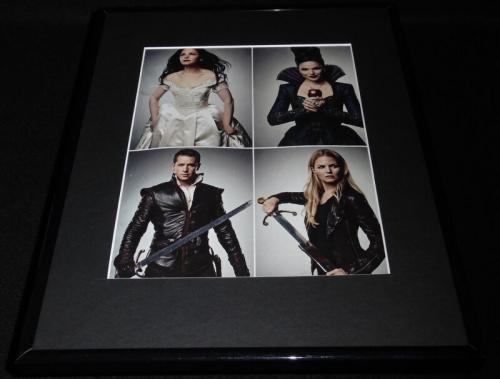 Once Upon a Time Cast Framed 11x14 Photo Display