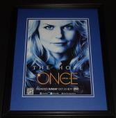Once Upon a Time Framed 11x14 ORIGINAL Vintage Advertisement Jennifer Morrison