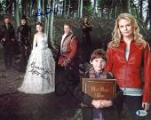 Once Upon a Time (Parrilla, Dallas +1) Signed 11x14 Photo BAS #A85181