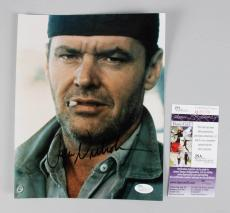 One Flew Over the Cuckoo's Nest – Jack Nicholson Signed 8×10 Photo – COA JSA