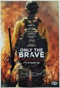 ONLY THE BRAVE Cast (4) Signed 11x14 Photo Dale Bridges Kitsch~ Beckett BAS COA