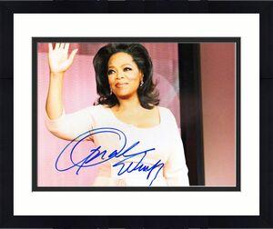 Oprah Winfrey Autographed Signed 11x14 Photo UACC RD COA AFTAL