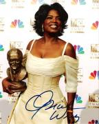 OPRAH WINFREY (MEDIA PROPRIETOR, TALK SHOW HOST, and ACTRESS) Signed 8x10 Color Photo