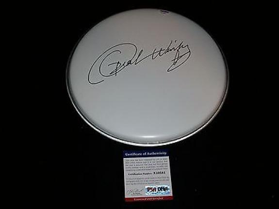 OPRAH WINFREY signed autographed DRUMHEAD PSA/DNA COA