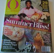 Oprah Winfrey Signed Magazine w/COA Chicago Proof B