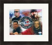 Orange County Choppers cast signed 8x10 signed by Paul Teutul Sr., Rusty Coones, Michael Teutul & Nick Mariconi JSA Matted & Framed
